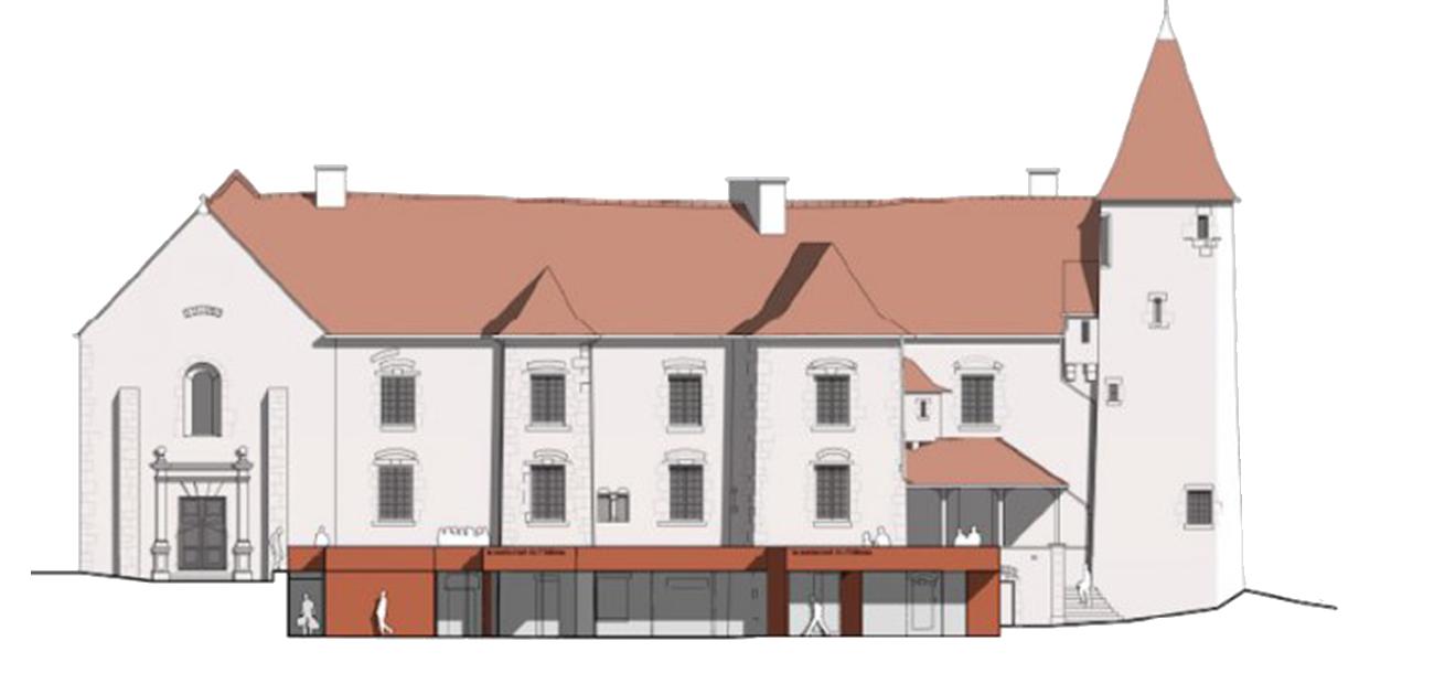 plan extension restaurant du chateau