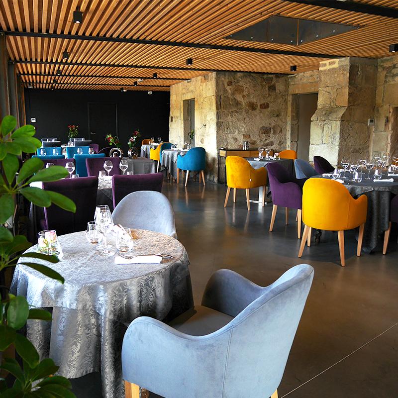 nouvelle salle de restauration du Restaurant du Château
