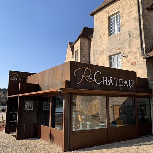 enseigne restaurant du château St-Sernin-du-Bois