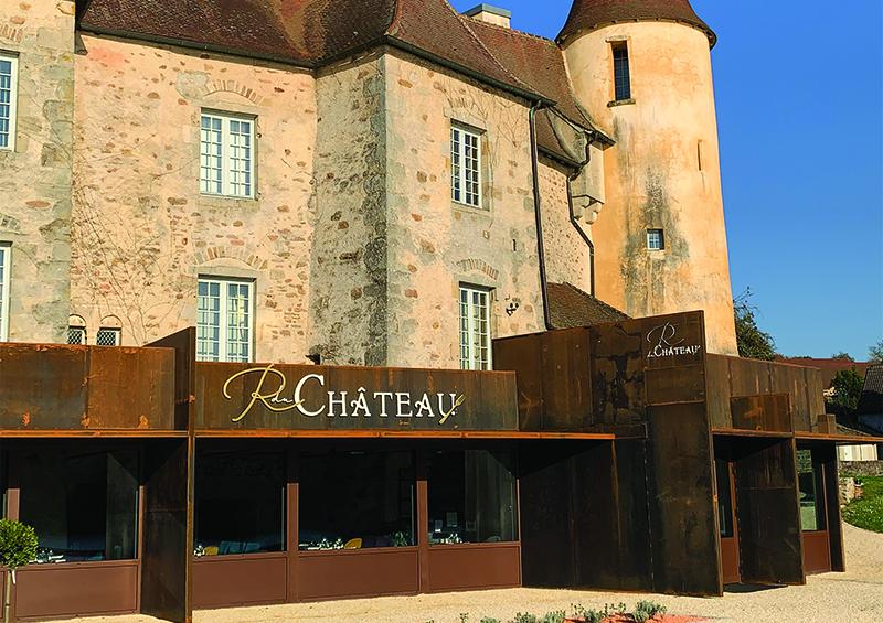 extension restaurant du château en Saône-et-Loire
