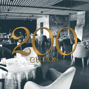 CHEQUE CADEAU 200euros